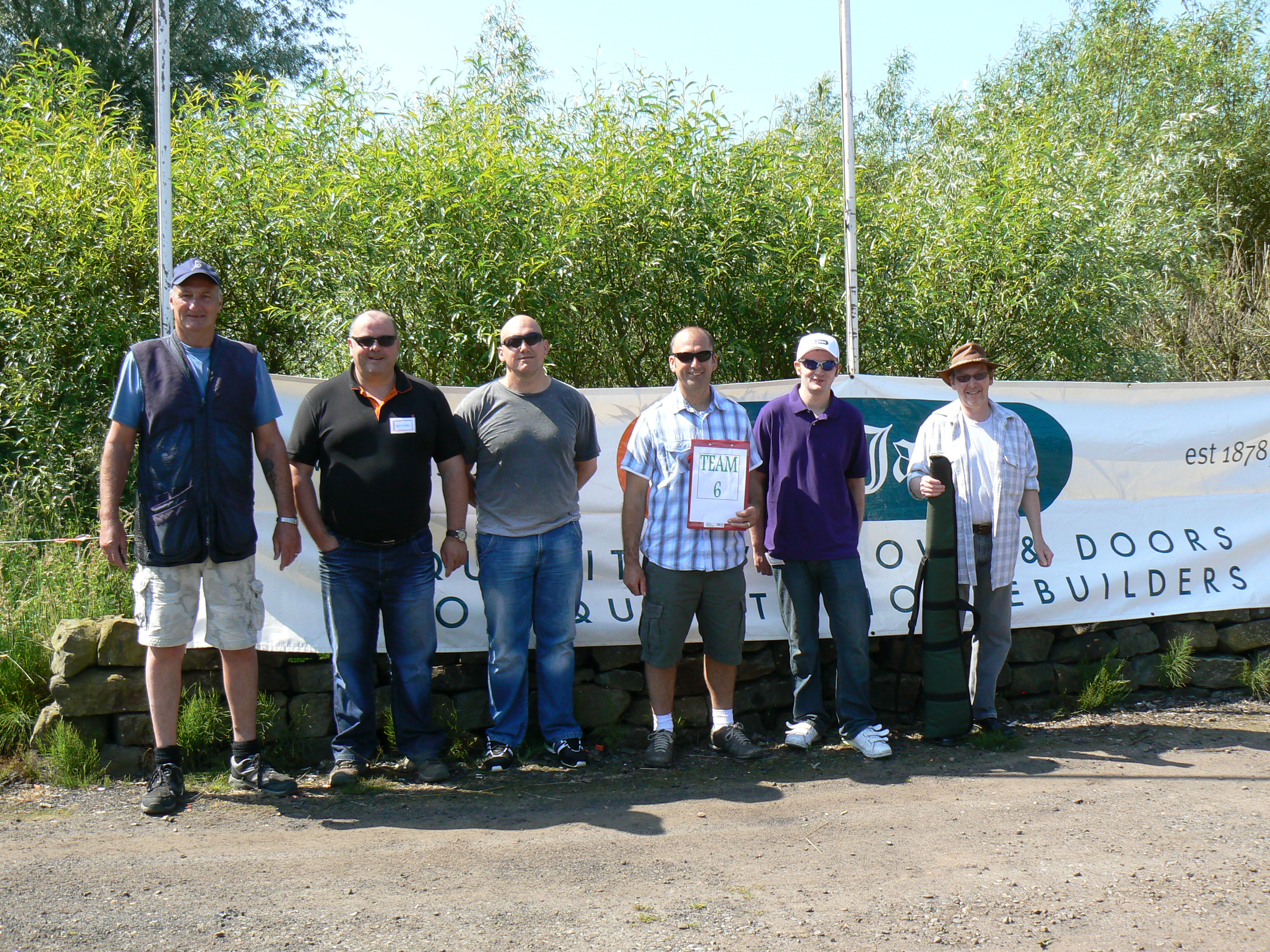 H. Jarvis Clay Shoot 2013 Team 6
